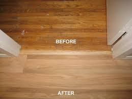 ireland decorators before and after floor refinishing