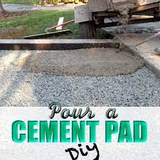 pour a cement pad diy everything karupped diy concrete patio poured concrete patio concrete retaining walls