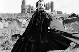 feature fangtastic sink your teeth into the whitby dracula  geoffrey beresford posing as count dracula in whitby churchyard in 1977