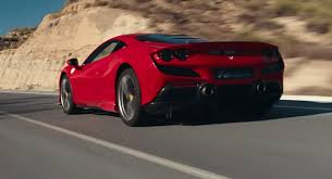 Ferrari F8 Tributo Crosses Mountains And Slides On A Racetrack Carscoops