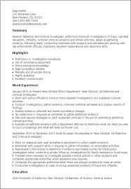 Impactful Professional Government Military Resume Examples