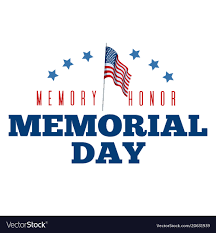 Typography Design Layout Memorial Day Typography Design Layout For Usa