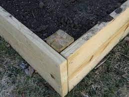 using pressure treated lumber in raised