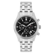 rotary watches automatic mechanical quartz h samuel rotary men s stainless steel chronograph sports watch product number 2268434