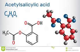 Acide Actylsalicylique Aspirin Molcule Dasa Chemica Structurel  Illustration de Vecteur - Illustration du structurel acide 118133856