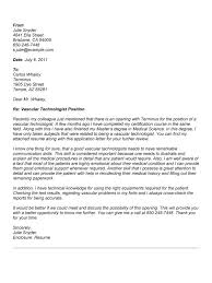 Medical Technologist Cover Letter Examples Rome Fontanacountryinn Com