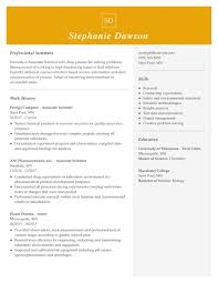 Dec 14, 2018 · if you're interested in the master of science in cybersecurity program, for example, review the program's website and make note of its requirements, objectives, core requirements, and any relevant keywords it uses. Professional Biology Resume Examples For 2021 Livecareer