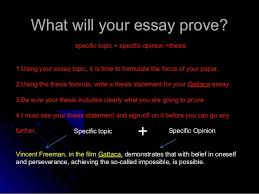 gattaca essay writing power point writing an introduction introductory paragraph