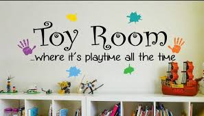 Toy Room Wall Art Decal Sticker