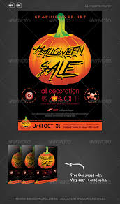 halloween sale flyer halloween sale flyer template flyer template fonts and print
