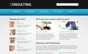 Business Website Templates Inspiration Free Website Template For Consulting Business