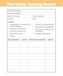 Excel Employee Payroll Template Training Record