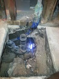 water leaking from under bathtub drain pipe leaking under bathtub under house due to missing connecting