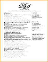 Resume With Photograph Free Sample Skills Section Of Resume Standart