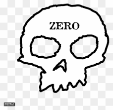 zero clipart black and white. Contemporary And Zero Skateboards Skately Library  Skull Throughout Clipart Black And White