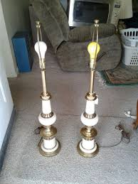 pair of used stiffel lamps no shades household in louisville ky offerup