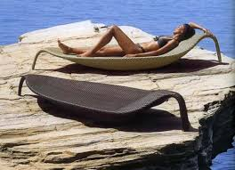 dedon outdoor furniture. Outdoor Wicker Chaise Lounge Leaf By Dedon Furniture E