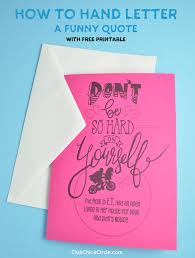The bundle is avaialble for a limited time. How To Hand Letter A Funny Quote With Free Downloadable Print