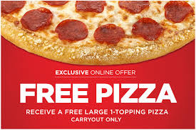 get a 100 free large round hungry howies s pizza carryout only now through 5 30 you pay zero out of pocket and no purchase is necessary
