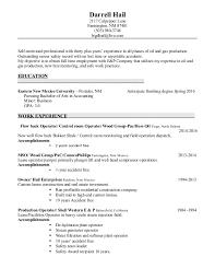Pumper resume