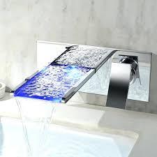 wall mounted waterfall waterfall bathtub faucets led wall mounted waterfall bathroom faucet absolutely stunning wall mounted