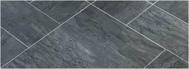 black slate tile effect vinyl flooring floor looks like faux l and