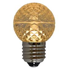 led globe light bulb g50 sun warm white