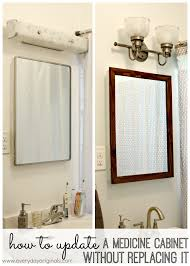 how to update a medicine cabinet without replacing it}