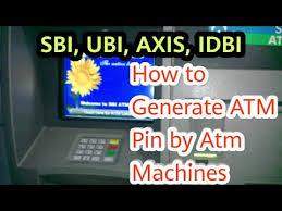 atm pin sbi atm pin debit card pin