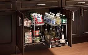 cabinet storage racks