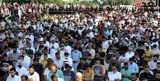 الآلاف من المصلين يؤدون صلاة عيد الأضحى المبارك (صور) - جريدة الغد