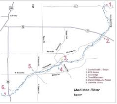 Manistee River Flow Chart Michigan Guided Fly Fishing And Light Tackle Fishing For