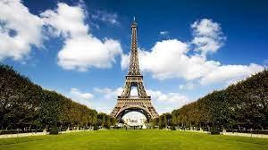 Download wallpaper 1366x768 city, paris ...