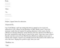 Writing An Appeal Letter Sample Appeal Letter How Write An Appeal Letter That Will