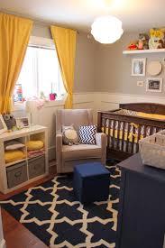 small baby room ideas. Yellow, Navy And Gray, Perfect! Small Baby Room Ideas L