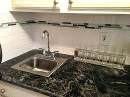 accent tile backsplash glass subway with s