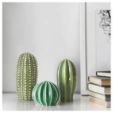 Själsligt Decoration Set Of 3 Green