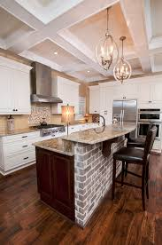 Kitchens With Brick Floors Brick Kitchens Tjihome