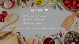 Free Food Powerpoint Templates Cassandra Free Powerpoint Template