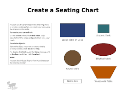 Create Your Own Table Chart Create A Seating Chart Student Desk Large Table Or Desk