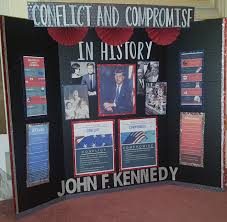 examples of poster board projects john f kennedy tri board poster project president poster project