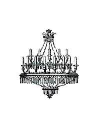 clip art chandelier antique chandelier search clip