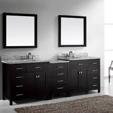 Virtu USA Caroline Parkway 93 Double Bathroom Vanity Set in