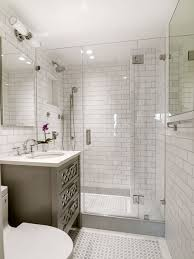 floor tile ideas for a small bathroom. example of a small transitional master white tile and subway mosaic floor alcove shower ideas for bathroom l