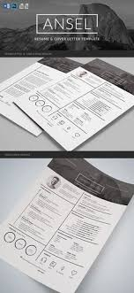 Photographer Resume - .psd Template | Pinterest | Psd Templates ...