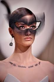the cat eye look philips created in collaboration with milliner stephen jones photo