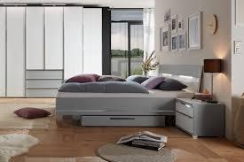 Staud Sinfonie Plus Bett Grau Weiß 160x200 Cm Möbel Letz Ihr