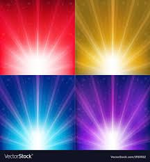 abstract color backgrounds. Modren Backgrounds Abstract Color Backgrounds With Sunburst And Stars Vector Image For P