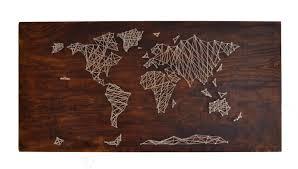 DIY: String Art World Map