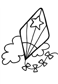 Small Picture coloring pages of kites 28 images free printable kite coloring